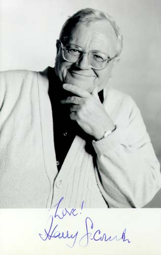 Signed photograph of Harry Secombe