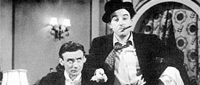 Spike Milligan and Peter Sellers